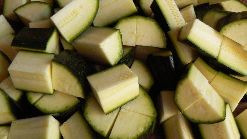 Zielona zupa krem