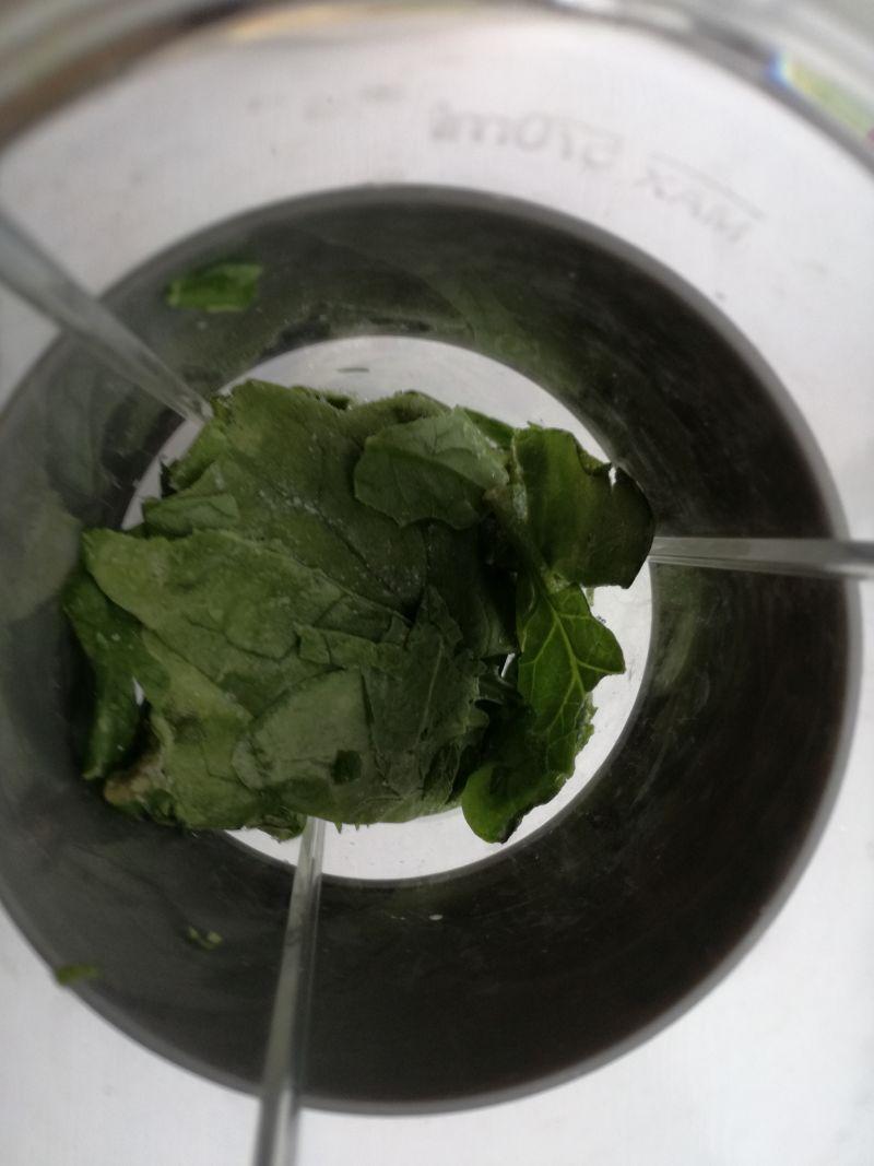 Zielony koktajl z marchewką