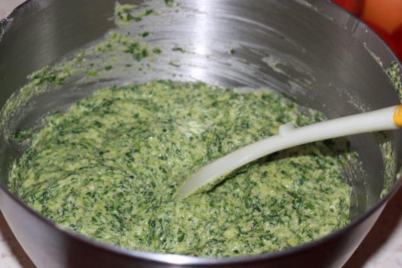 Zielony mech-pyszne ciacho