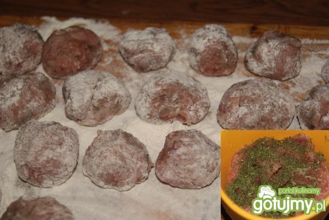 Ziemniaczano-kurkowa z pulpecikami