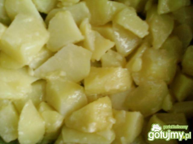 Ziemniaki podsmażane z brokułem