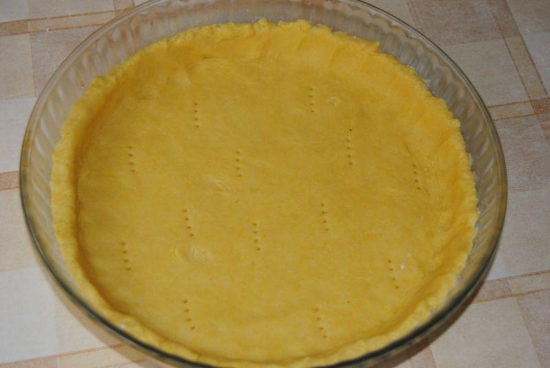 Żółta tarta z cukinią