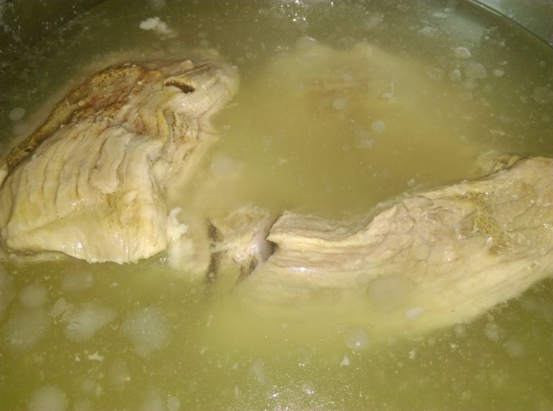 Zupa dyniowo-ryżowa na ostro