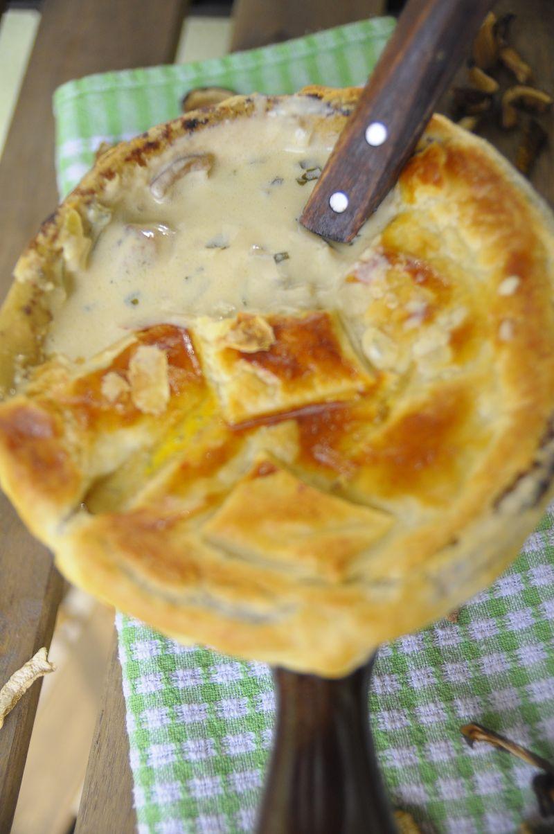 Zupa grzybowa pod czepcem