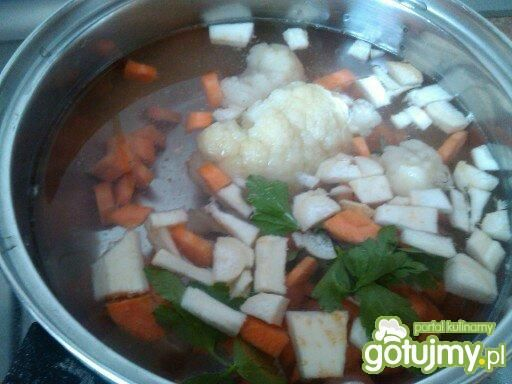 Zupa- krem kalafiorowa dla niemowlaka