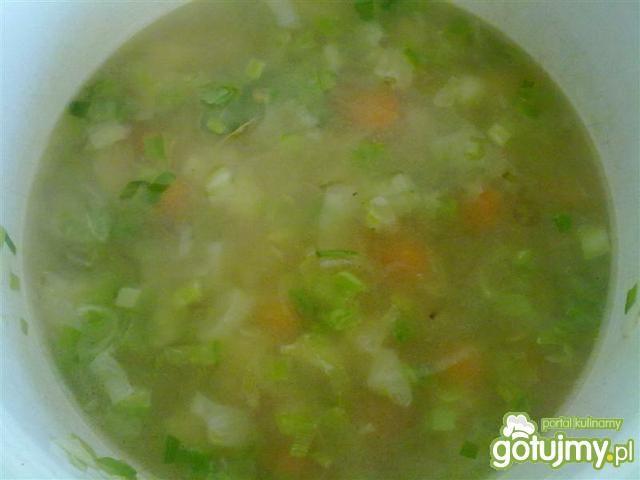 Zupa krem porowo-ziemniaczany