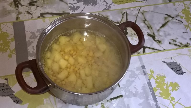 Zupa-krem z kukurydzy