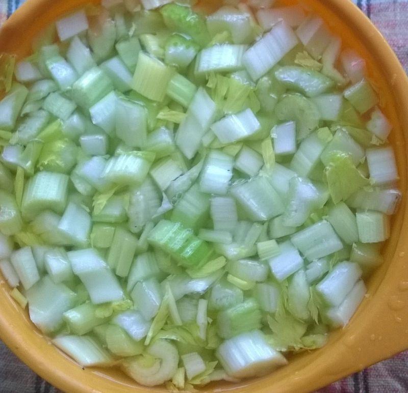 Zupa krem z selera naciowego i marchewki