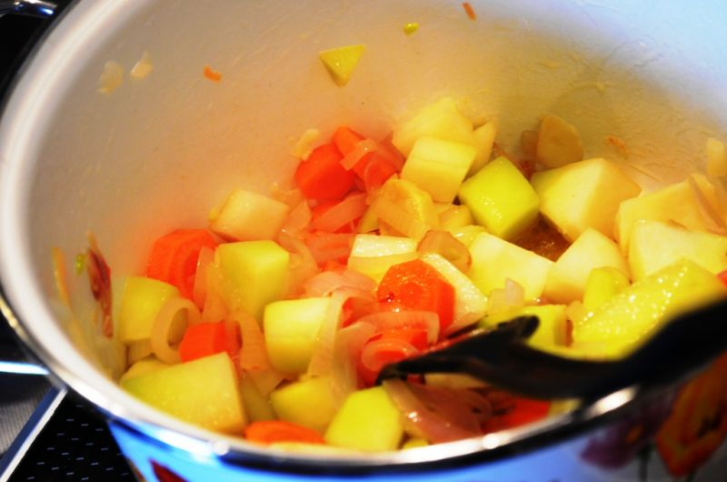 Zupa krem z soczewicą