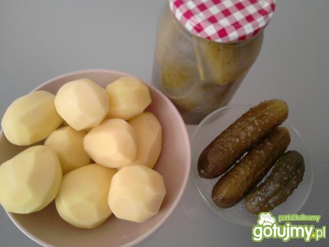 Zupa ogórkowa Moniki