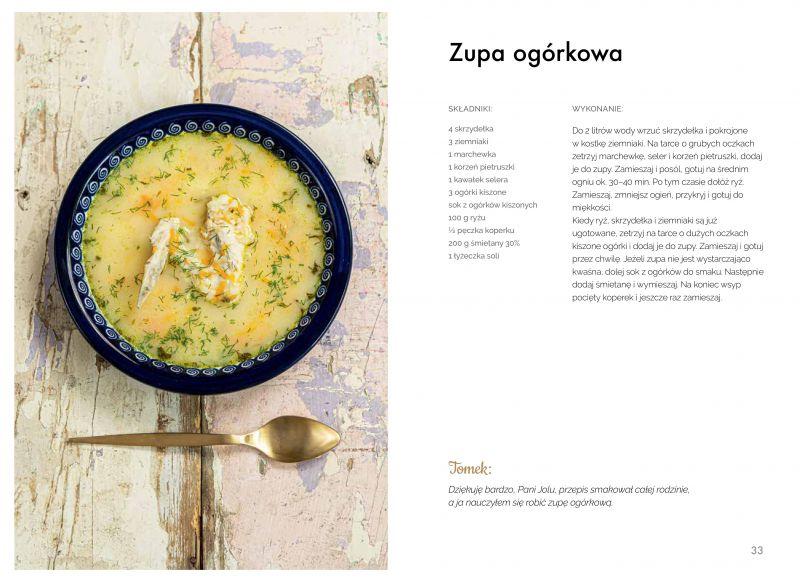 Zupa ogórkowa Joli Caputy
