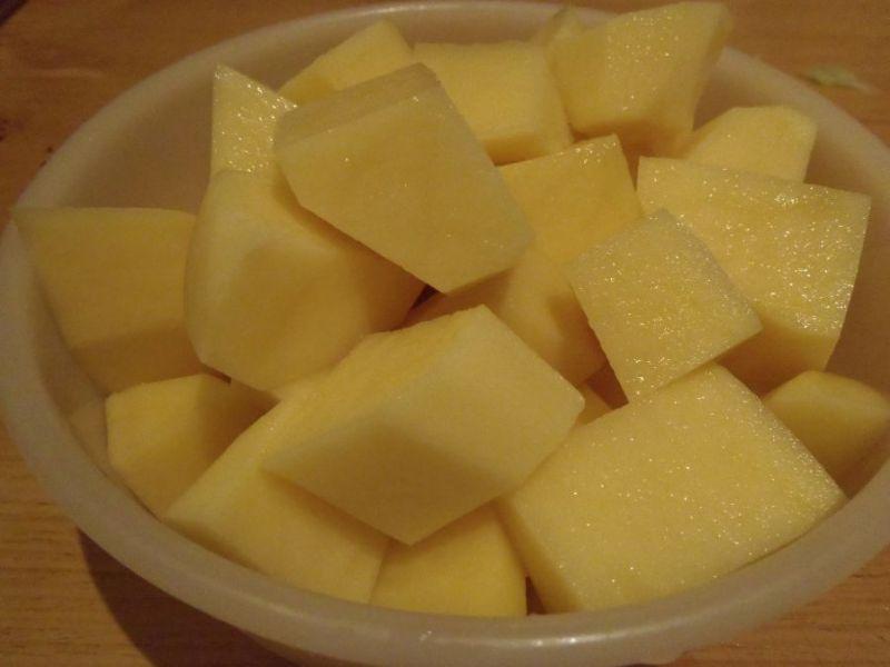 Zupa ogórkowa z porem - niezabielana