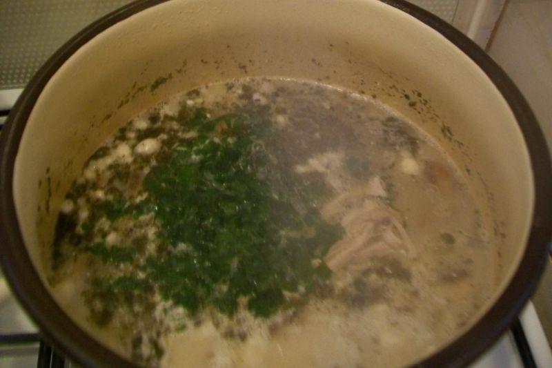 Zupa pieczarkowa z gwiadkami