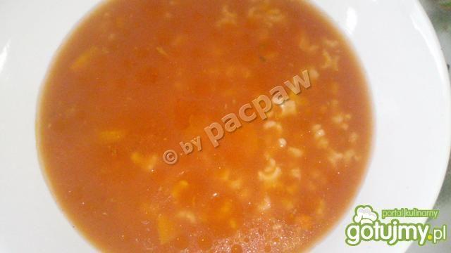 Zupa pomidorowa kacza