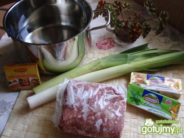 Zupa porowa wg gosia56