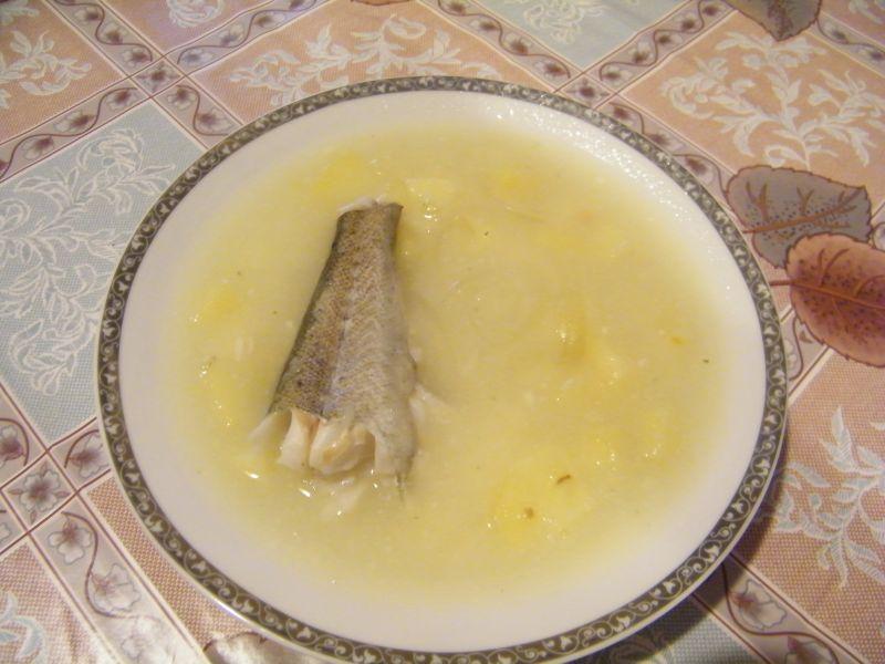 Zupa rybna z dorsza i z ziemniakami