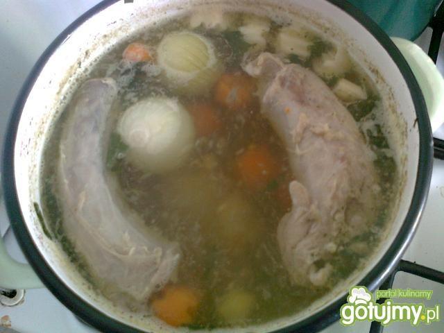 Zupa śmietanowo-jarzynowa