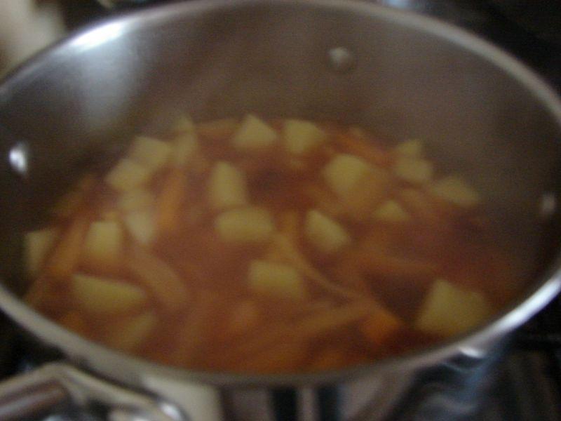 Zupa warzywna na masełku