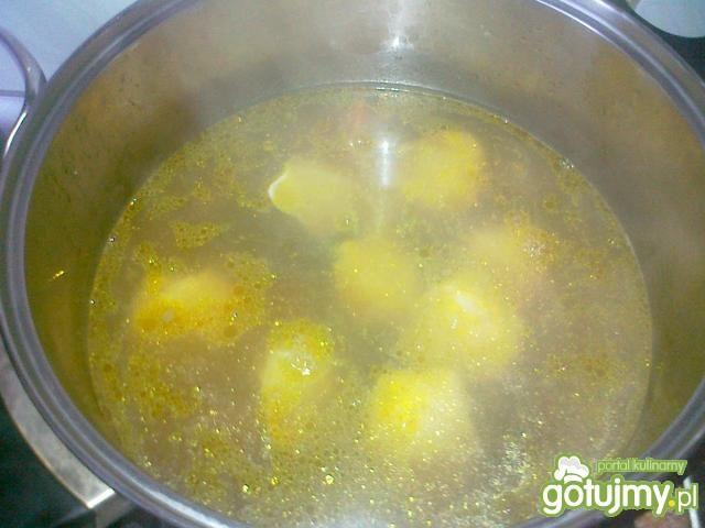 Zupa Won Ton z pierożkami