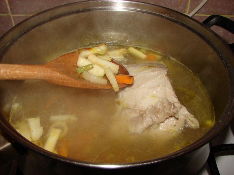 Zupa z cukinii i ziemniaków