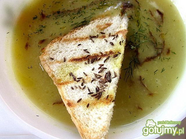 Zupa z kopru włoskiego