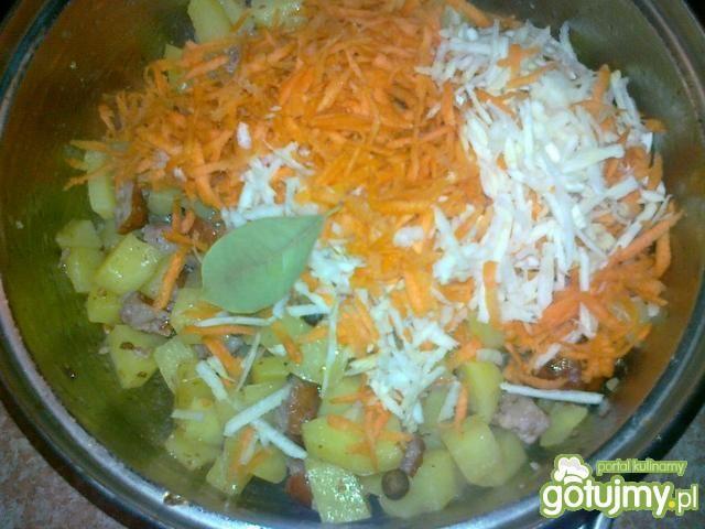 Zupa ziemniaczana na surowej kiełbasie