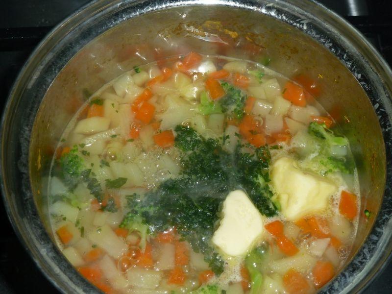 Zupka jarzynowa - dla niemowląt