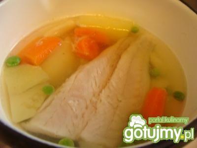 Zupka rybna dla najmłodszych