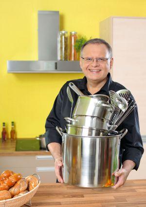 Marek Łebkowski autor książki Kurs gotowania