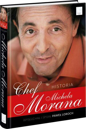 "Okładka książki ""Chef. Historia Michela Morana"""