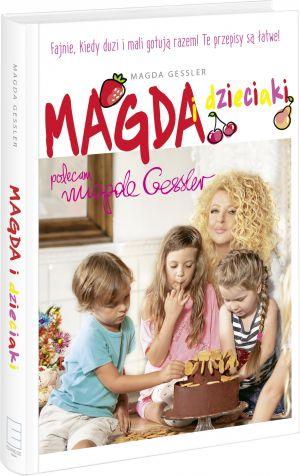 """Okładka książki """"Magda i dzieciaki"""""""