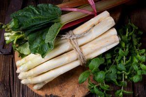 szparagi i rabarbar