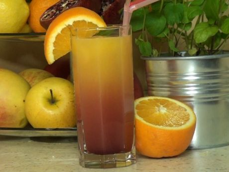 Słodki karnawałowy drink