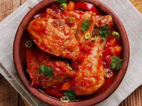 Chakhokhbili - kurczak po gruzińsku