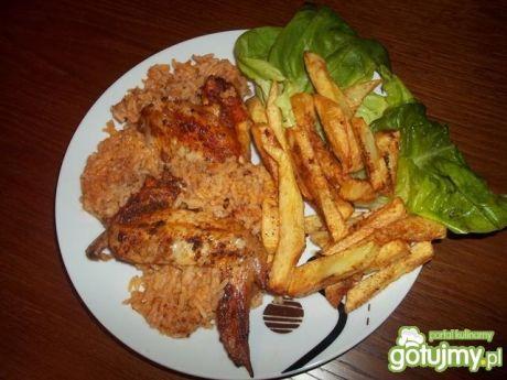 Kurczak na ryżu