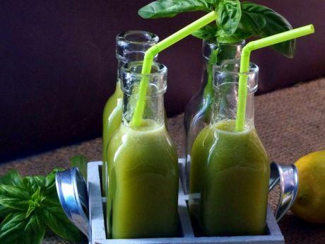 Lemoniada bazyliowa -