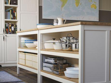 Organizacja i przechowywanie w kuchni – pomysły od IKEA