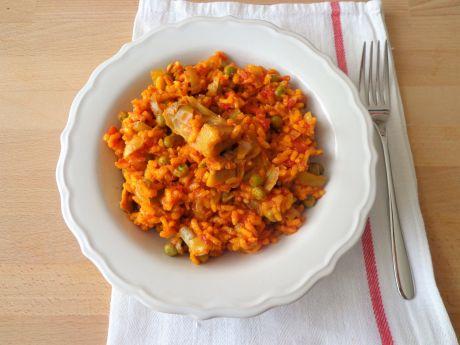 Paella w wersji wegetariańskiej