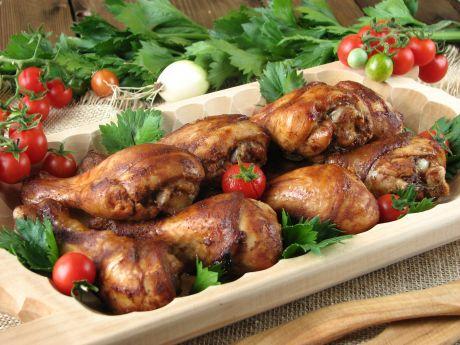 Pałki z kurczaka w marynacie barbecue
