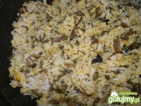 Ryż z pieczarkami do obiadu