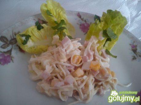 Sałatka z selera i szynki