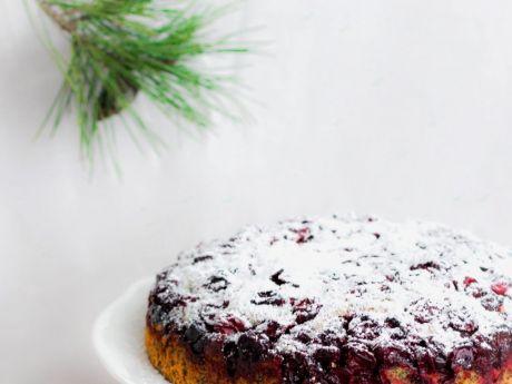 Świąteczne ciasto makowe z wiśniami - Ciasto makowe z wiśniami - polecam serdecznie