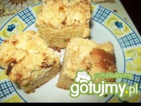 Szybkie Ciasto Ucierane z Jabłkami Szybkie Ciasto Ucierane z