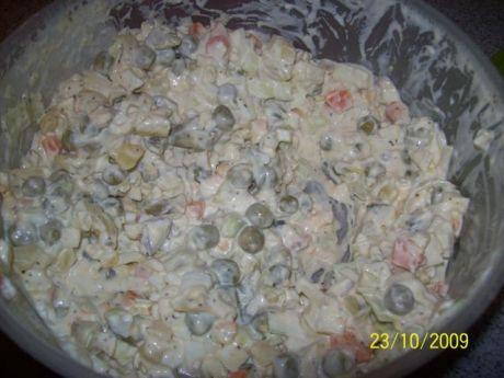 Tradycyjna Salatka Warzywna Tradycyjna sa Atka Warzywna