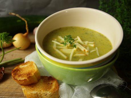Zupa-krem z cukinii -