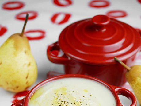 Zupa krem z gruszek, pietruszki i selera - Zupa krem z gruszek, pietruszki i selera