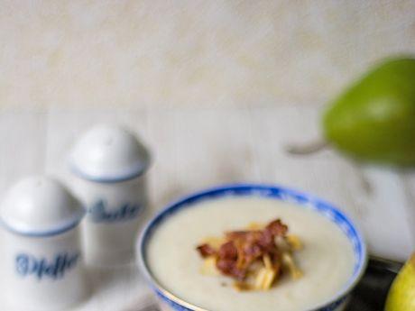 Zupa krem z topinambura i gruszek - Zupa krem z topinambura i gruszek