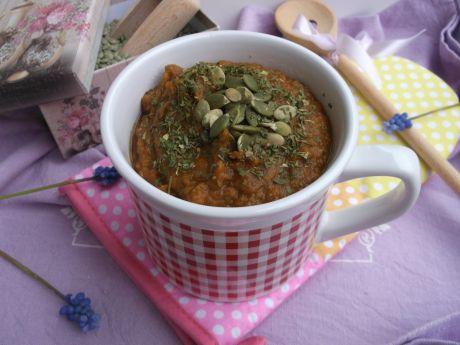 Zupa - krem z zielonej soczewicy
