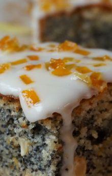 Ciasto makowo-pomarańczowe