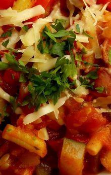 Potrawka warzywna z kiełbasą śląską